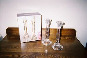 FOR SALE IN STRATHROY - CRYSTAL CANDLESTICKS London Ontario image 1
