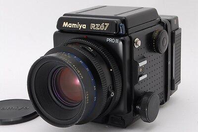 【Near Mint】Mamiya RZ67 Pro II with SEKOR Z 110mm f/2.8 W + 120 Film Back 229N