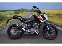 KTM 125 Duke **Great Condition, ABS, HPI Clear, Finance Available**