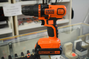 Black and Decker 20-Volt Max Lithium-Ion Cordless Drill/Driver