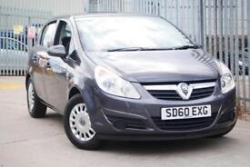 2010 60 Vauxhall Corsa 1.2i 16v 5 Door - Grey 1.2 S Grey Just 33,000 Miles