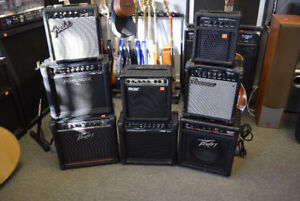 Practice Guitar and Bass Amps - Assorted Brands $39.95 and Up!