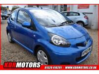 2010 Toyota Aygo VVT-I BLUE 1L PETROL MANUAL - 73K - CHEAP TAX - F/S/H