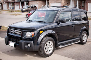 2008 Honda Element EX + Roof Rack, Winter Tires & Running Boards