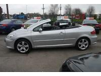 2006 Peugeot 307 CC 2.0HDi ( 136bhp ) Coupe Sport CONVERTIBLE