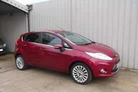 Ford Fiesta 1.4 Titanium 5 door Hot Magenta, Low Mileage, cheap to run