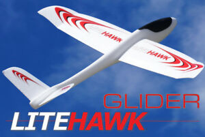 #-#new Avion Planneur LiteHawk GLIDER-Hand Launch 6 ans +