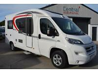 2015 BURSTNER BREVIO T640 3 BERTH LOW PROFILE MOTOROME FOR SALE