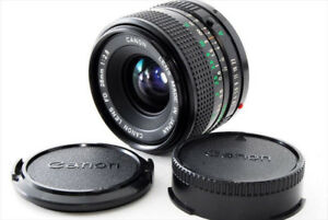 Canon FD 28 mm f 2.8, wide angle lens, mint