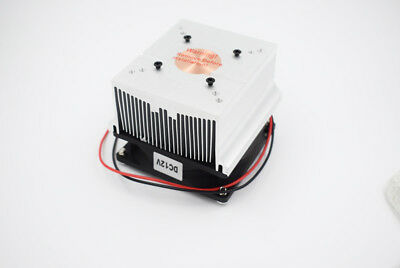 Aluminum Heatsink With Fan Cooler For 20w 50w 100w High Power Led