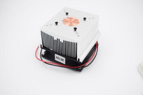 Aluminum heatsink with fan cooler for 20w 50w 100w high power led