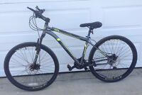 Unisex mountain bike with DISC brakes