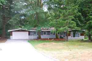 Sooke Bungalow for rent..