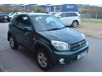 2004 TOYOTA RAV 4 2.0 XT3 AUTOMATIC 1 OWNER FROM NEW, TOTAL SERVICE HISTORY
