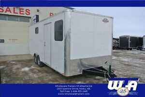 2017 Cargo Mate 8.5'x22' E-Series Partition Office Trailer