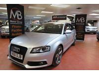 2011 AUDI A3 2.0 TDI Black Edition [Start Stop] SAT NAV LED Xenons Bose