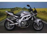 Suzuki SV650 **Delkevic Exhaust, Givi Tinted Screen, Crash Bobbins**