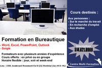 Formation Word, Excel, PowerPoint, Outlook, Doigté