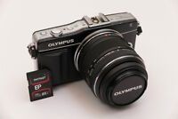 Olympus PEN E-PM2 Compact DSLR Interchangeable Camera