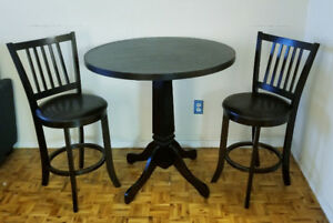 French Bistro Table Set in Perfect Condition