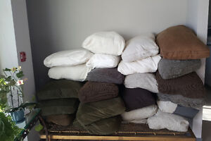 Big comfy cushions, perfect for dog or pet beds