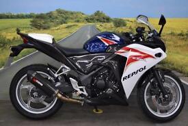 Honda CBR250R **Scorpion Exhaust, Carbon Hugger, 4 Services**