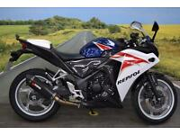 Honda CBR250R **Scorpion Exhaust, Carbon Hugger, 4 Services**