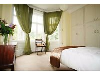 Very Large, Outstanding Double Room with Bay Windows - West Hampstead