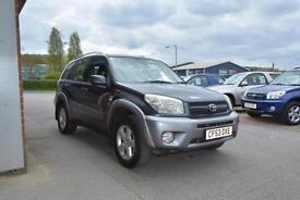 2003 TOYOTA RAV 4 2.0 XT3 5 DOOR PETROL FULL LEATHER SUNROOF