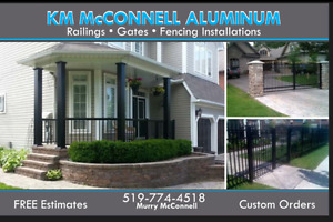 ALUMINUM RAILINGS McConnell Aluminum Railings