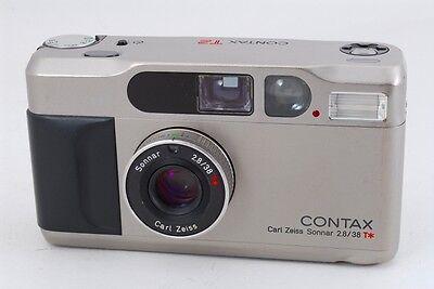 Пленочные фотокамеры [EXCELLENT+++] Contax T2 Silver