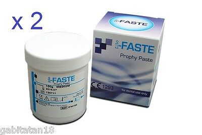 Professional Prophylaxis Prophy Paste Polishing Paste 2 Packs X 100g Each Dental