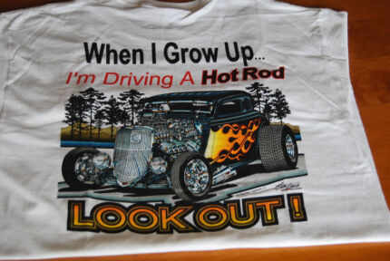 Hot Rod T Shirt Snowtown Wakefield Area Preview