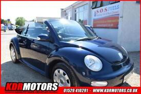 2005 VW Beetle 8V 1.6L PETROL MANUAL - CONVERTIBLE - NOW ONLY £1995