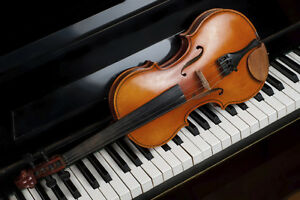 Learn Violin & Piano at Home from a pro teacher start $100/Month