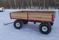 ATV Wagon, heavy-duty steel frame. Excellent Condition!