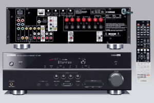 Yamaha RX-V567 Home theater receiver with 3D-ready HDMI