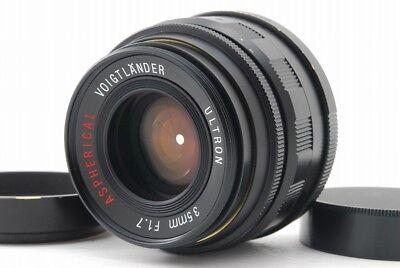 【Exc+++++】Voigtlander ULTRON 35mm f/1.7 Aspherical Lens for L Mount Japan #185