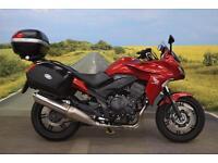 Honda CBF1000 **Combined ABS, Givi Top Box & Panniers, Tank Pad**