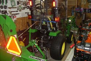 john deere 2320 hst tractor 4x4 with only 490 hours,