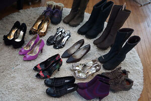 Women's heels, shoes, boots in great condition! $10 and up!