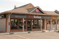 Go Italian is looking for a full time line cook