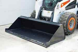 Jenkins HEAVY DUTY Low Profile Dirt Bucket Skidsteer Attachment Moose Jaw Regina Area image 2