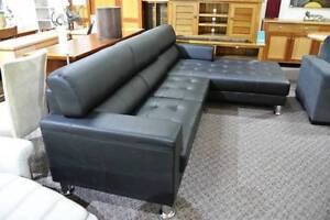 Clearance Full Leather Modular lounge Suite was $3599 now $2599 Yagoona Bankstown Area Preview