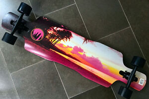 Paradise Sailor's Warning Drop-through Longboard BRAND NEW