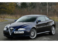 Alfa Romeo GT 2.0 JTS COUPE 2006 MY. BLUE