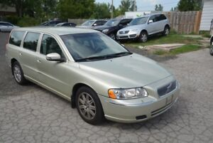 2007 Volvo V70 Wagon, 1 owner, low kms, no accidents