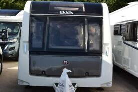 Elddis Crusader Super Sirocco, 2014, 4 berth, twin axle, fixed double bed