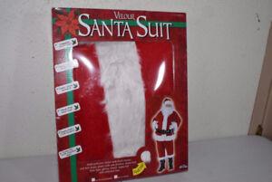 Velour Santa Suit- Plus Size