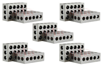 Shars 5 Matched Pairs 10 1-2-3 123 Blocks 23 Holes Ultra Precision 0.0001 New
